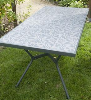Awesome Table De Jardin Aluminium Plateau Ciment Images ...