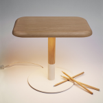 "Lampe"" Woody"" - Arpel Lighting"