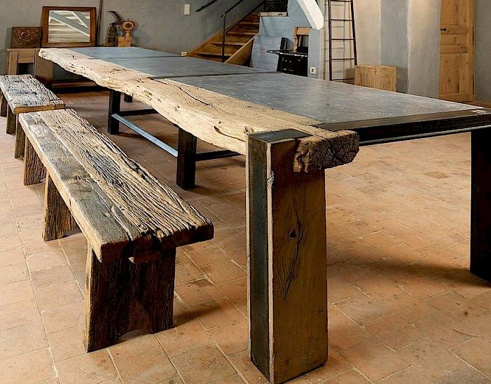 Table de salle à manger - Atelier Drk Cousaert