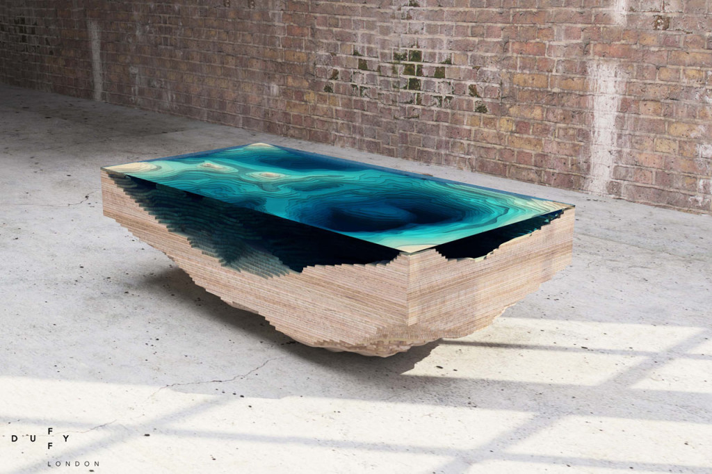 Table Abysse par Christopher Duffy - Design et Décoration Alternative