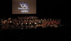 L'orchestre symphonique pour le Distant World Final Fantasy