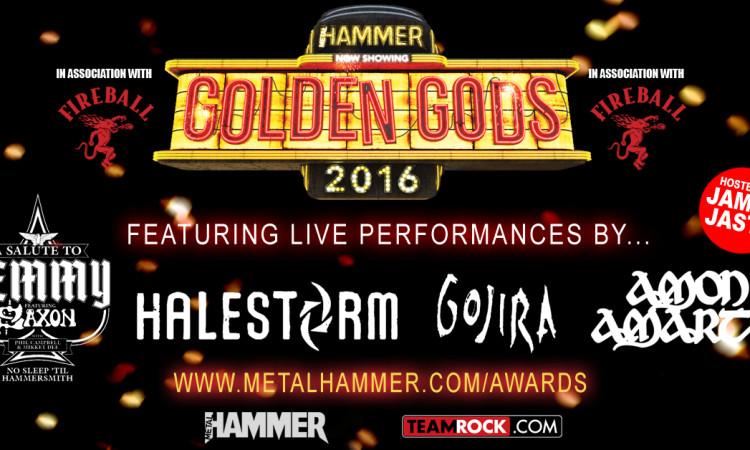Metal Hammer Golden Gods Award 2016