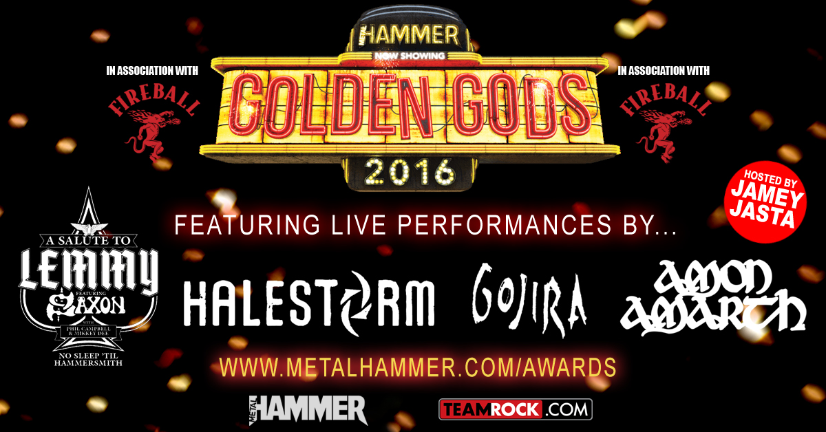 Metal Hammer Golden Gods Award 2016