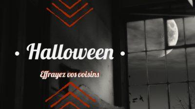 • Halloween • 4 pochoirs pour effrayer vos voisins